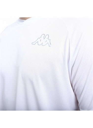 Kappa Poly T-Shirt Raw  Beyaz